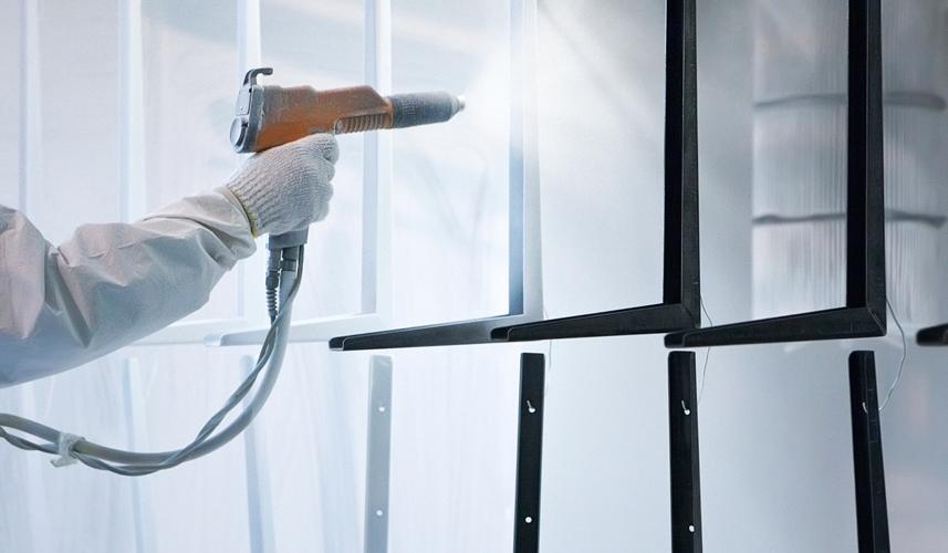 awnings dubai powder coating